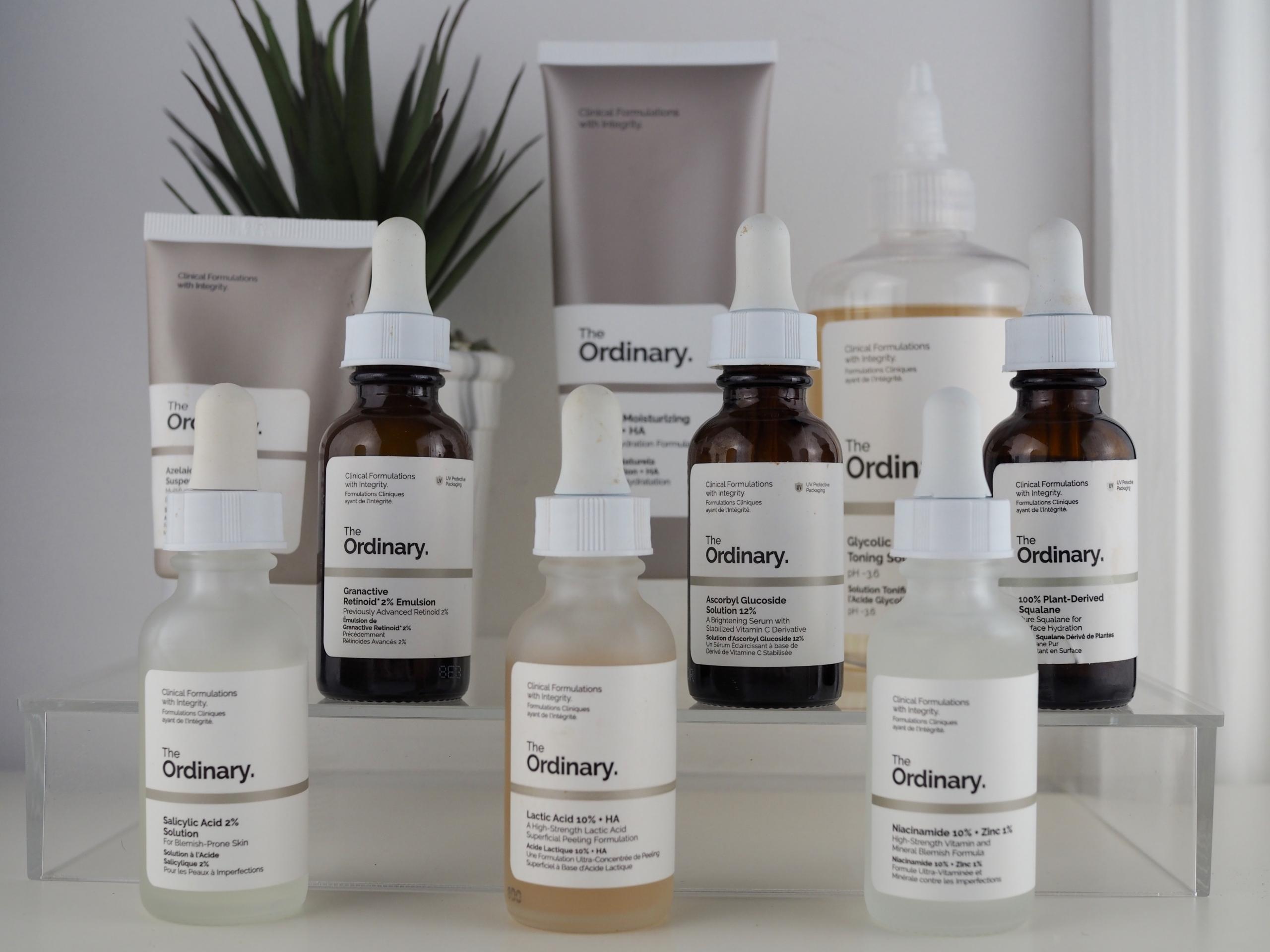 Honest review of the ordinary skincare