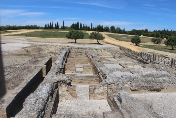 Roman Ruins of Itálica, Sevilla, Spain