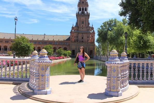 Plaza de Espana Seville, Spain