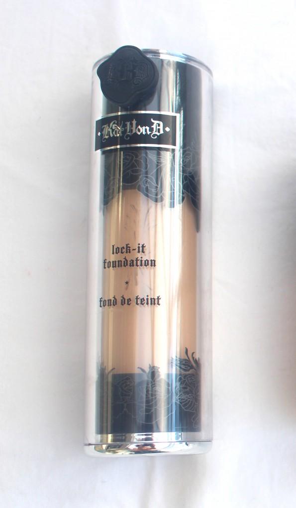 Kat Von D lock-it foundation