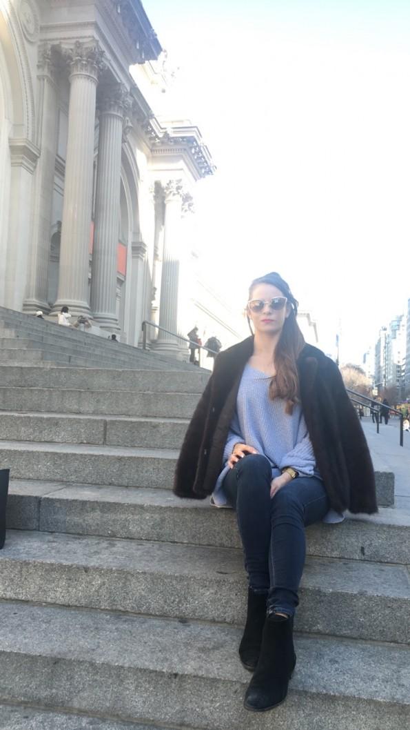 Sophie met steps