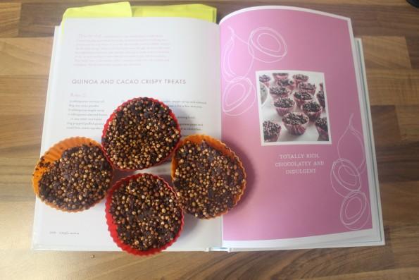 Quinoa & cacao crispy treats