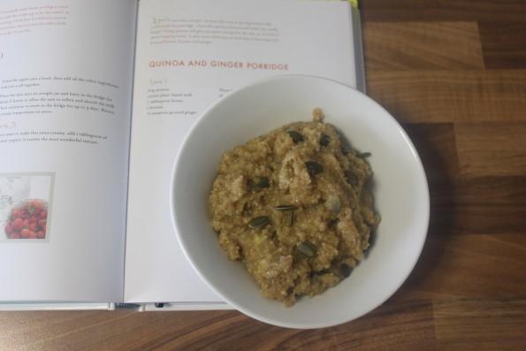 Quinoa & ginger porridge