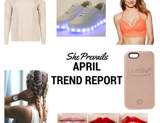 She Prevails April Trend Report