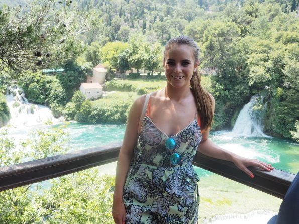 A day at Krka waterfalls