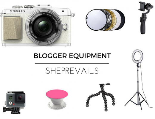 BLOGGER EQUIPMENT