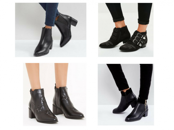 Black boots for Autumn