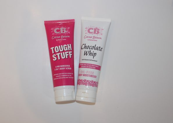 Summer tanning regime Coco Brown products
