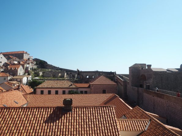 Walking the Dubrovnik Old Town Wall