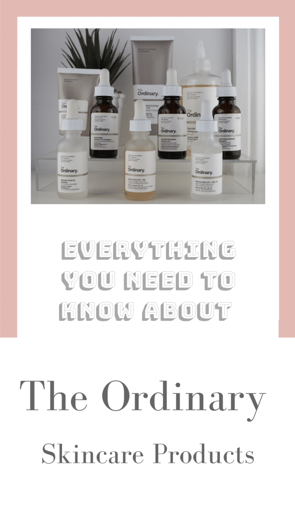 Everything You Need To Know About The Ordinary Skincare Products