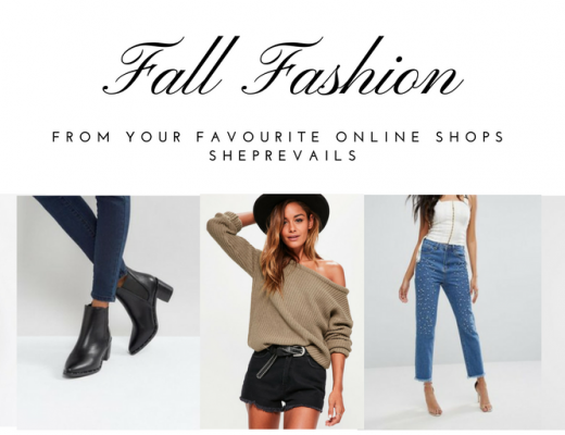 Fall fashion from your favourite online stores