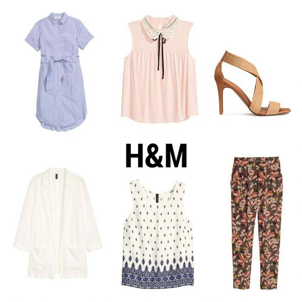 H&M summer workwear clothes