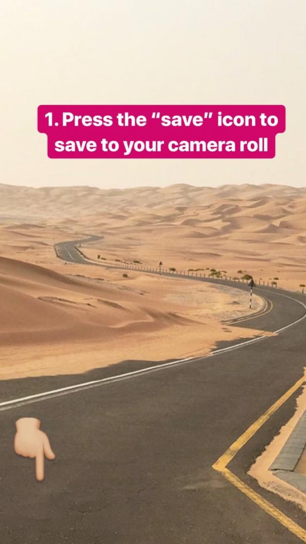 Instagram text story