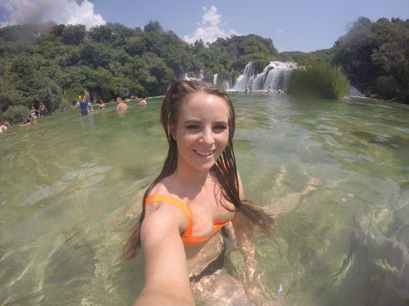Krka waterfalls Sophie