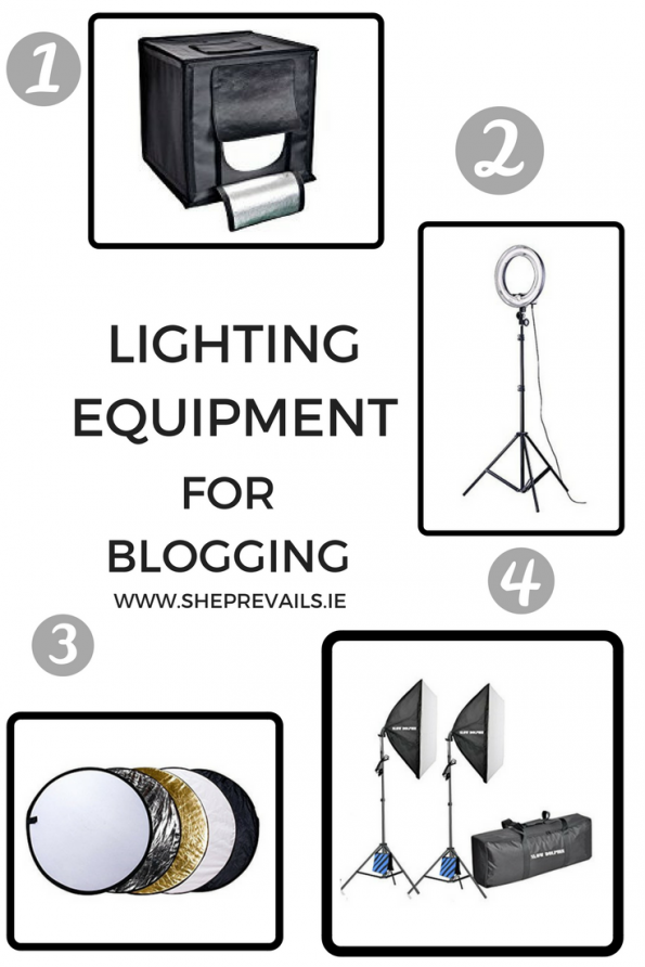 Lighting equipment for blogging