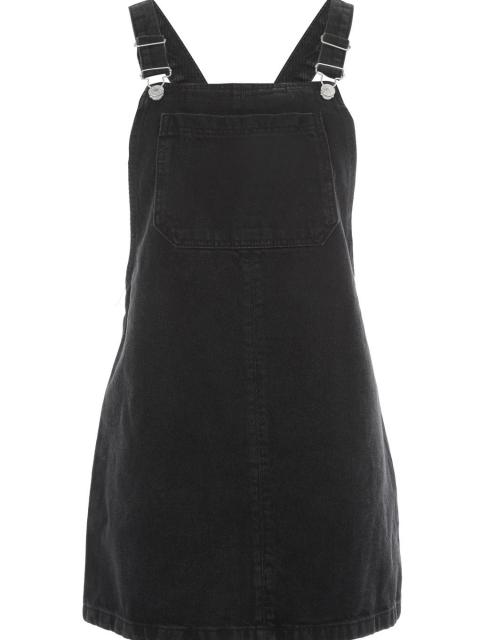 MOTO Bib Pocket Pinafore Dress