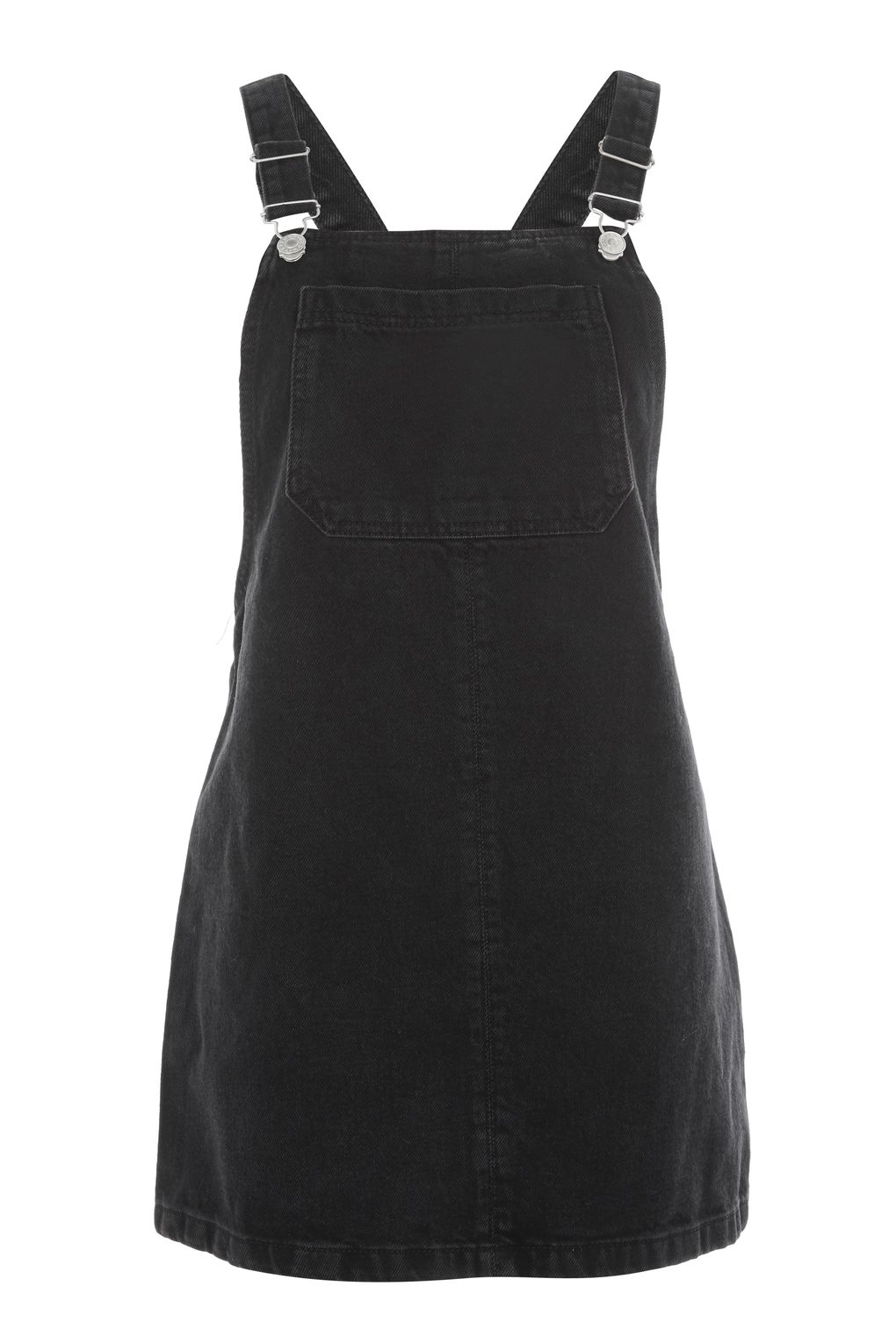 MOTO Bib Pocket Pinafore Dress