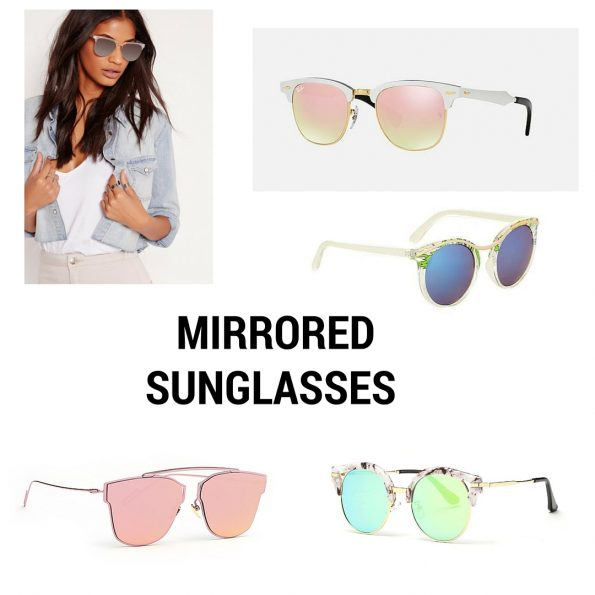 Mirrored sunglasses trend She Prevails