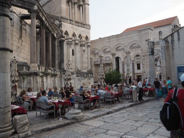 Old town in Split