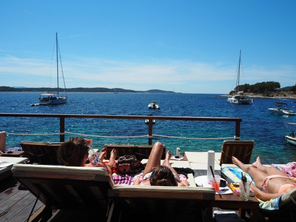Hula Hula beach bar Hvar