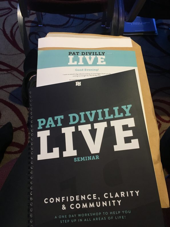 Pat Divilly live