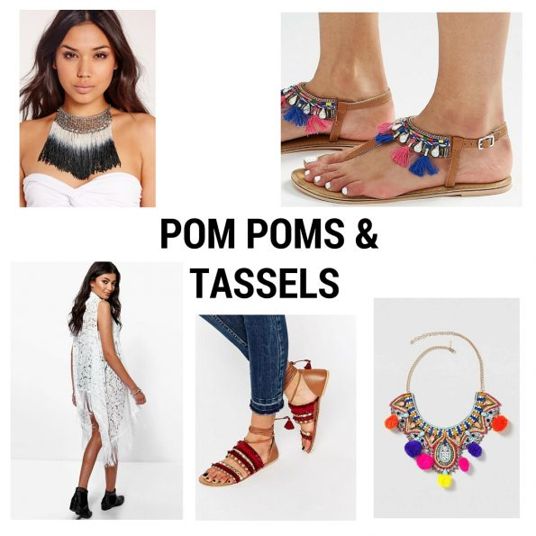 Pompoms & Tassels summer trends