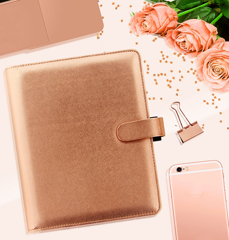 Rose Gold FiloFax