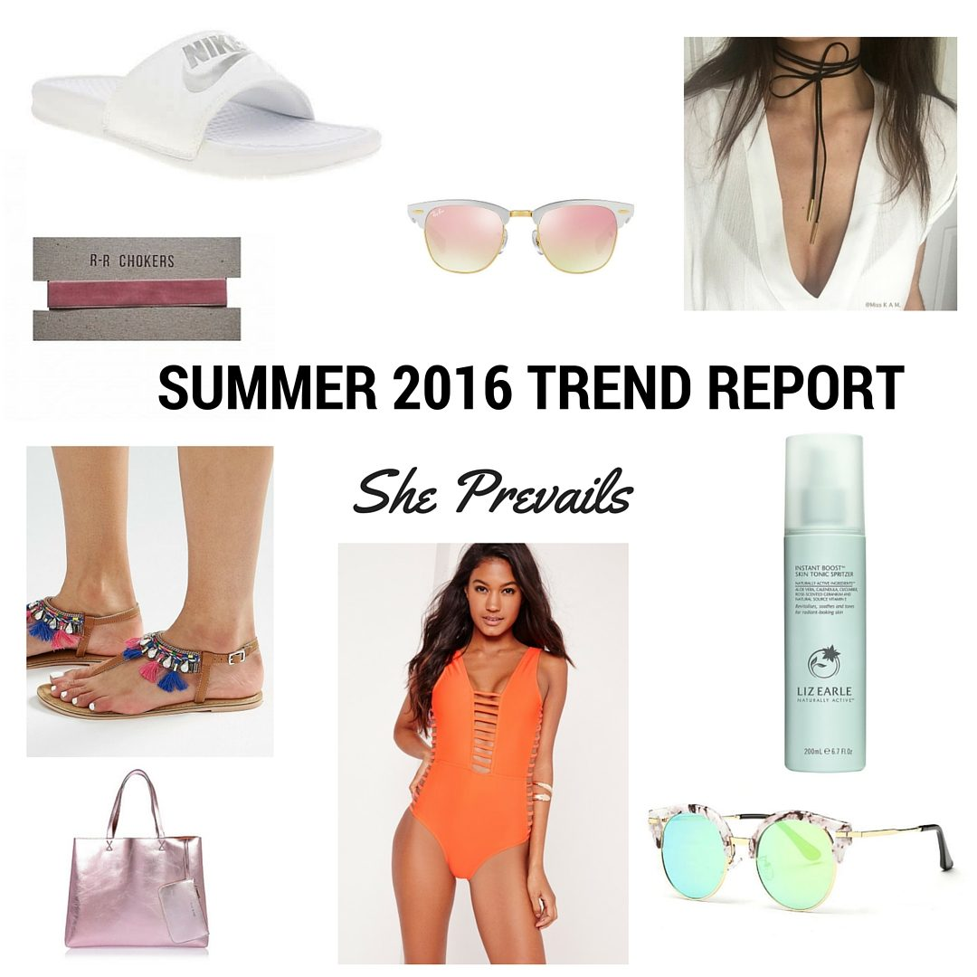 She Prevails Summer trend report 2016