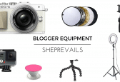 A List of the Best Equipment for Blogging & Photography
