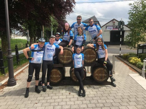 She Prevails Ireland cycle