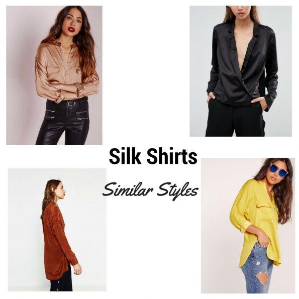 Silk shirt trend