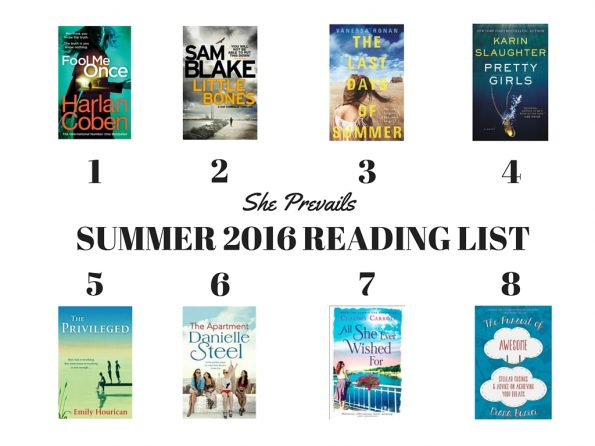 Your summer 2016 book & reading list