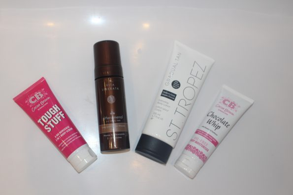 Summer tanning regime fake tanning products