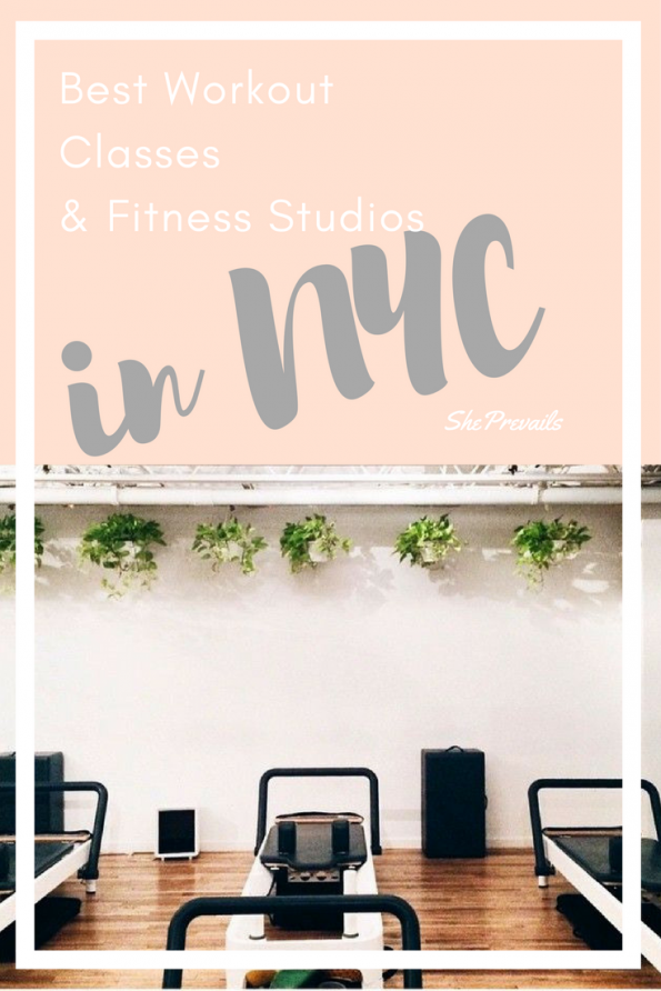 The best NYC Workout Classes & Fitness Studios