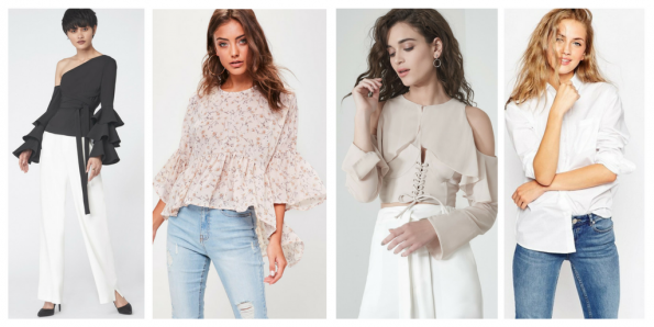 Tops and shirts for fall
