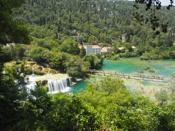 Waterfalls at Krka