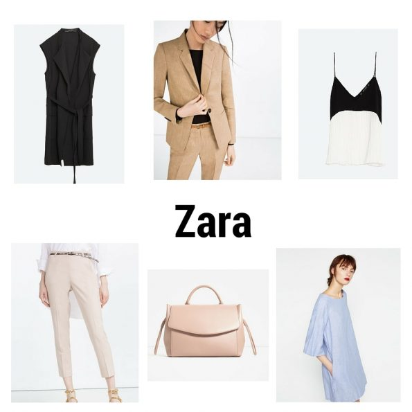 Zara summer workwear