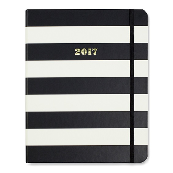 kate-spade-diary-black-and-white-stripe-2017 (1)